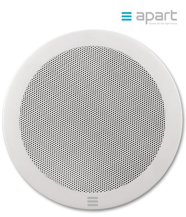 Szerokopasmowy głośnik ścienny/sufitowy do zabudowy APART CM5EH