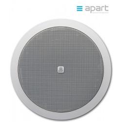 Szerokopasmowy głośnik ścienny/sufitowy do zabudowy APART CM8E