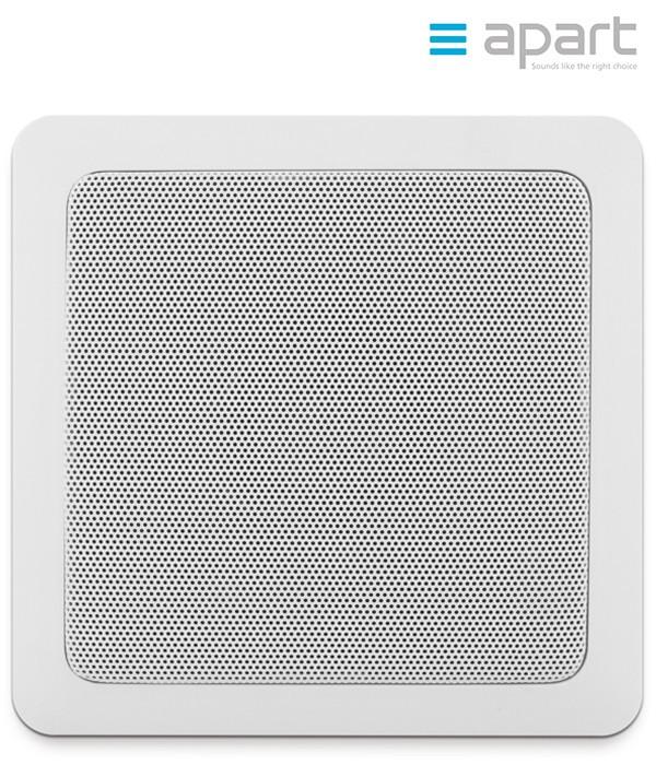 Szerokopasmowy głośnik ścienny/sufitowy do zabudowy APART CMS508