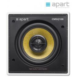 Dwudrożny głośnik kwadratowy Hi-End ścienny/sufitowy do zabudowy APART CMSQ108