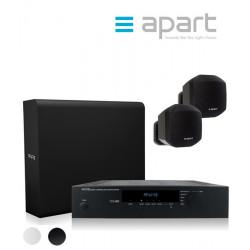 Zestaw nagłośnienowy APART AUDIO AMBISET - 2x MASK2-W + 1x SUBLIME-W + wzmacniacz Concept1