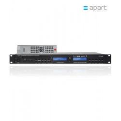 Profesjonalny odtwarzacz CD/DVD/MP3/SD/USB z tunerem FM Apart PCR3000RMKII