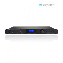 Profesjonalny odtwarzacz USB/FM/RDS/UPnP/WiFi Apart PMR4000RMKII