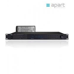 Profesjonalny tuner AM/FM/RDS APART PR1000R