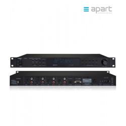 Profesjonalny poczwórny tuner AM/FM/RDS APART PR4000R