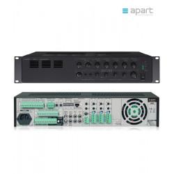 Niskonapięciowy wzmacniacz miksujący 6-strefowy APART Audio MA247 100V