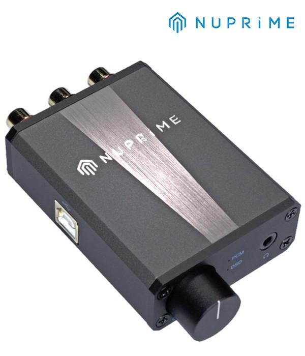 Kompaktowy przetwornik DAC wzmacniacz słuchawkowym z wyjściem liniowym NuPrime uDSD