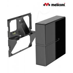 Meliconi Ghost Cubes - maskownice do kabli (2 sztuki) + szklana półka
