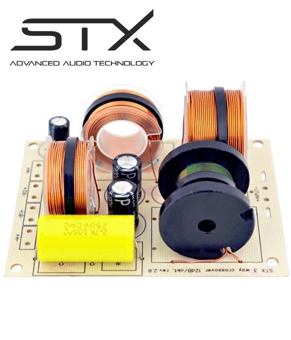 STX 3D-12-4/4/4 - Zwrotnica trójdrożna