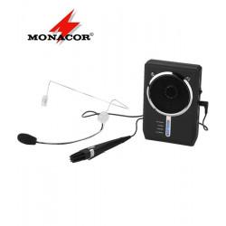 MONACOR WAP-7D - przenośny wzmacniacz głosu z mikrofonem