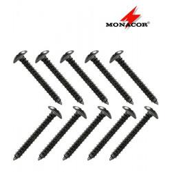Monacor MZF-4032 - wkręty do drewna (10 sztuk)