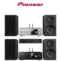 Pioneer X-HM76 - mini wieża z odtwarzaczem CD, WiFi i Bluetooth