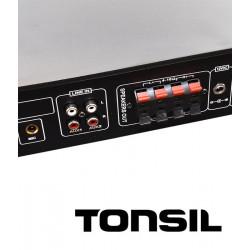 Tonsil SA-1055U - centrala 1-strefowa z MP3 /USB/ SD/12V