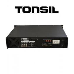 Tonsil WL-1250U - Wzmacniacz miksujący 5-strefowy 180W MP3/USB/Bluetooth
