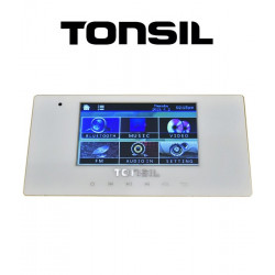 Tonsil WS-40 - Odtwarzacz ścienny 4 x 20W, USB, SD, FM, Bluetooth