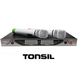 Tonsil R3 - system bezprzewodowy + 2 mikrofony