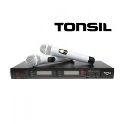 Tonsil R5 - system bezprzewodowy + 2 mikrofony