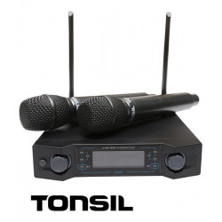 Tonsil AK-4 - system bezprzewodowy + 2 mikrofony