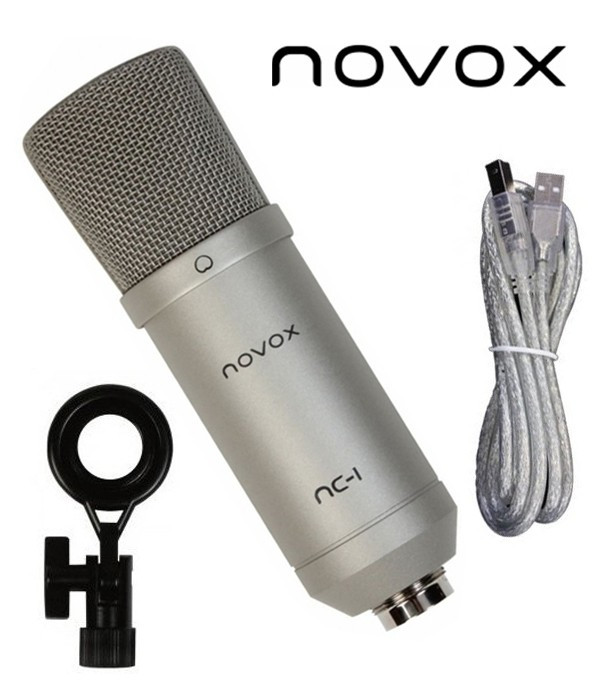 Studyjny mikrofon pojemnościowy NOVOX NC-1