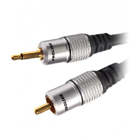 Prolink Exclusive TCV 3140 1.8m kabel 1 RCA - Jack 3.5mm mono