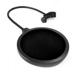 Studyjny POP filtr PS1 + mikrofon NOVOX NC-1 + stojak mikrofonowy