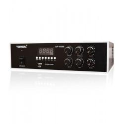 Tonsil SA-1055U - centrala 1-strefowa z MP3 /USB/ SD 230/12V