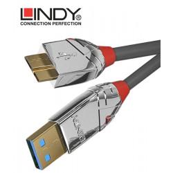 Lindy 36658 Kabel USB 3.0 A - micro USB B Cromo Line – 2m