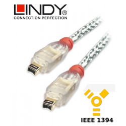 Lindy Kabel FireWire 400 4-4 30886 15 m