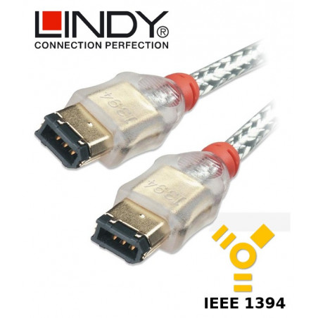 Lindy Kabel FireWire 400 6-6 30862 3 m