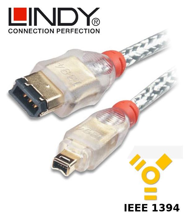 Lindy Kabel FireWire 400 6-4 30871 2 m