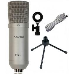 Mikrofon NOVOX NC-1 + stojak Superlux DS01