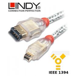 Lindy Kabel FireWire 400 6-4 30873 4.5 m