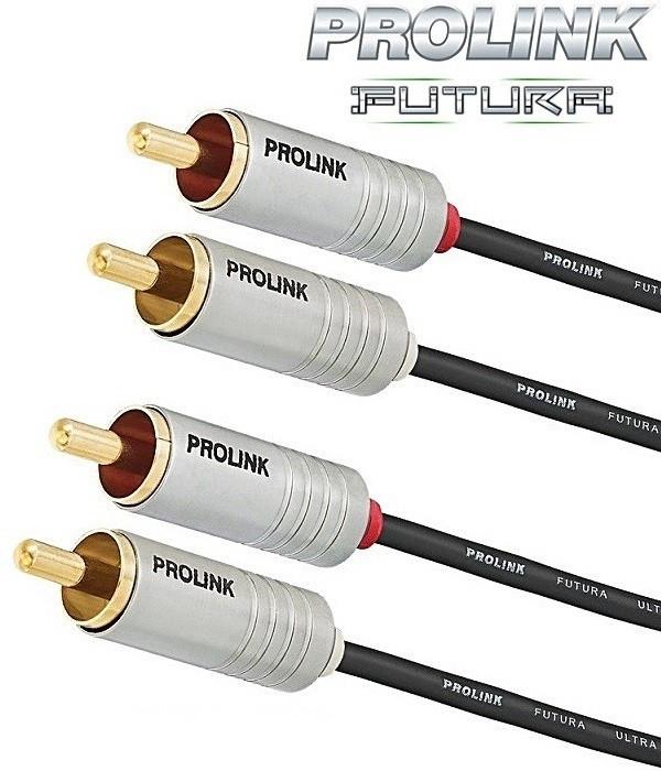 Prolink 2RCA-2RCA Prolink Futura Slim FSL201 - 2m