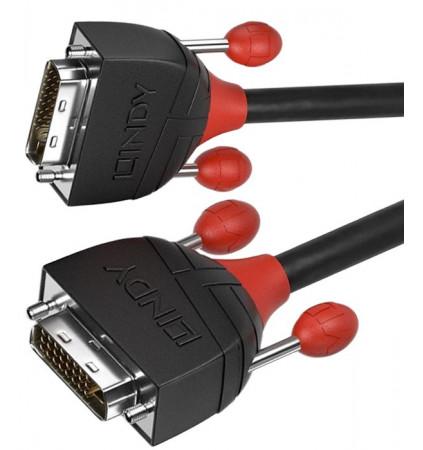 Lindy Black Line  36251 - Kabel DVI-D Dual Link – 1m