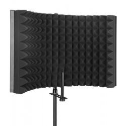 Mozos MSHIELD – Przenośna kabina akustyczna, ekran studyjny