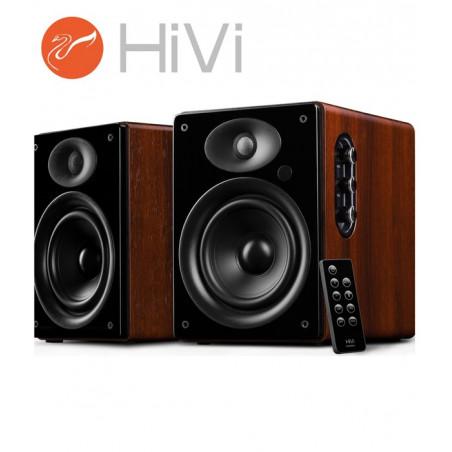 HiVi Swans D1080MKII+ - Zestaw kolumn stereo 2.0 Bluetooth