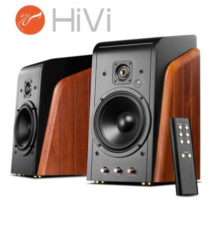 HiVi Swans M300 – Zestaw kolumn stereo 2.0 240W Bluetooth