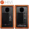 HiVi Swans M3AMKII – Zestaw kolumn stereo 2.0 Bluetooth, WiFi