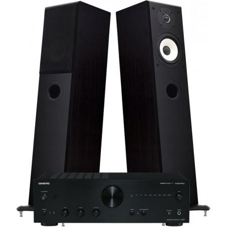 Zestaw stereo 2.0 - STX Electrino 150 + amplituner ONKYO A-9050