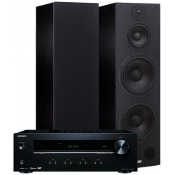 Zestaw stereo 2.0 - STX F-360n + amplituner Onkyo TX-8220