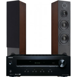 Zestaw stereo 2.0 - STX F-200n + amplituner Onkyo TX-8220
