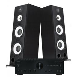 Zestaw stereo 2.0 – Kolumny podłogowe STX Electrino 500 + amplituner Onkyo A-9050