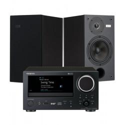 Zestaw stereo 2.0 – Onkyo CR-N775D + STX MX-140