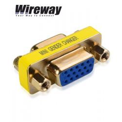 Wireway WW420019 - Łącznik adapter VGA - VGA (typ żeński)