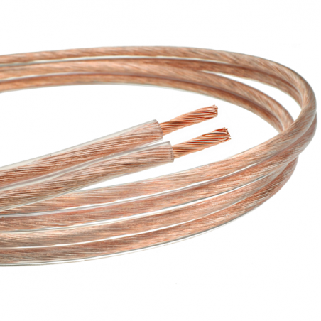 Kabel (przewód) głośnikowy z czystej miedzi 2x 0.75mm2 - 10m