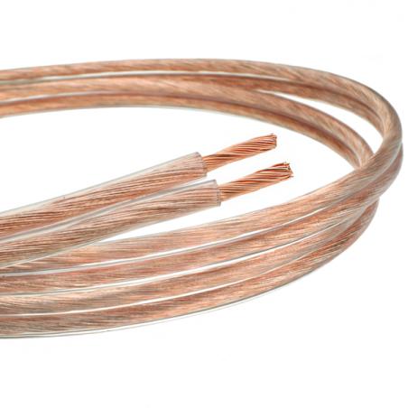Kabel (przewód) głośnikowy z czystej miedzi 2x 1mm2 - 10m