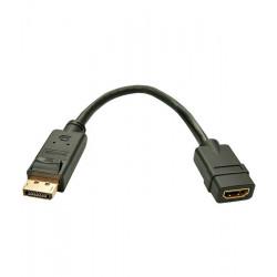 Konwerter DisplayPort - HDMI Lindy 41005
