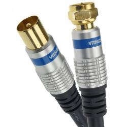 Kabel (przewód) antenowy TV - F (sat) Vitalco
