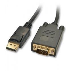 Kabel Display Port - VGA (D-Sub) Lindy