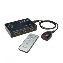 Switch / przełącznik HDMI Lindy 38035 (5xIN-1xOUT)